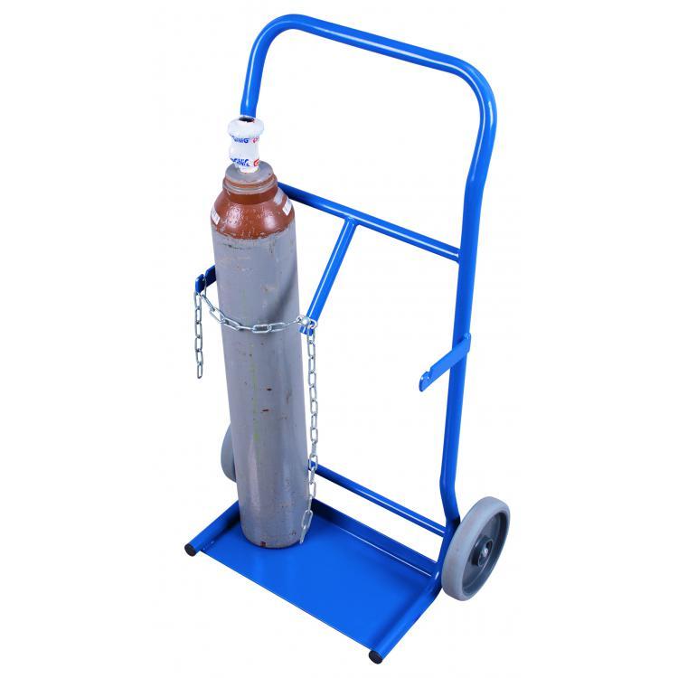 wózek do butli stalowych 10 litrów