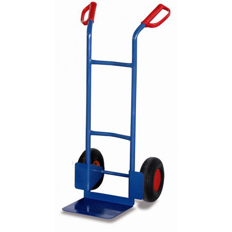 wózek dwukołowy w wersji stalowej