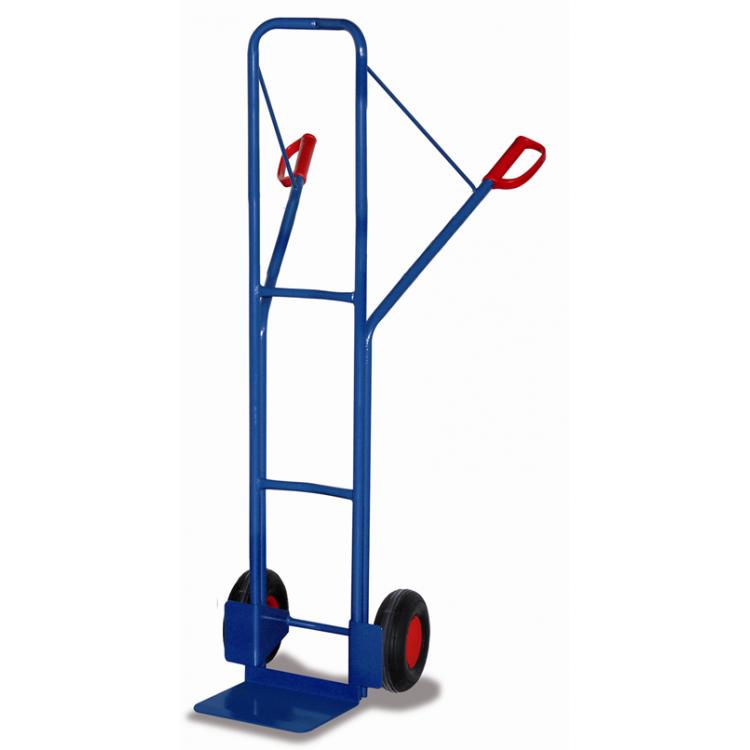 wózek dwukołowy do wysokich ładunków