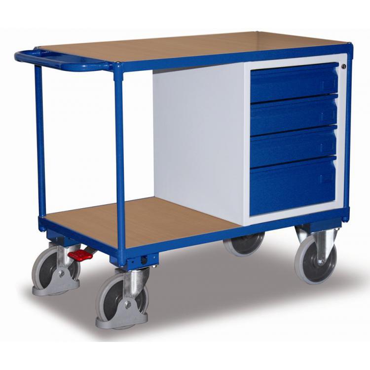 wózek półkowy  z szufladami