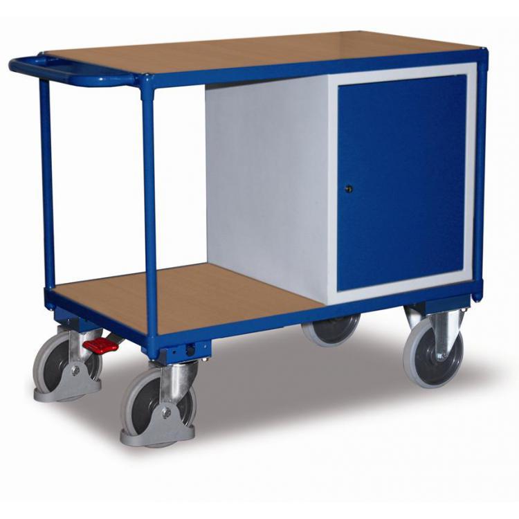 wózek półkowy z szafką