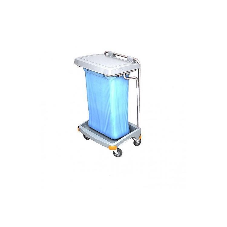 Wózek na odpady worek 120l z pokrywą TSO-0002