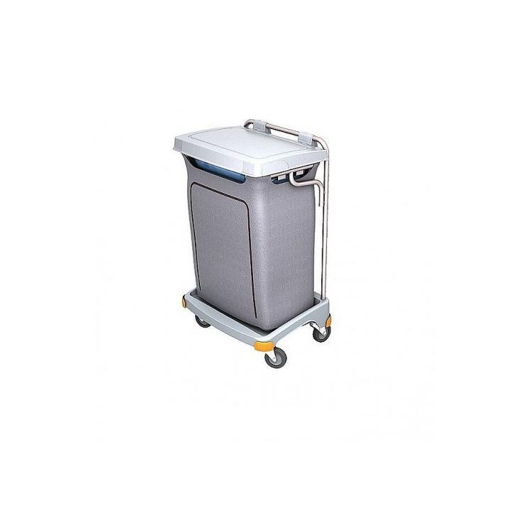 Wózek na odpady 120l z pokrywą i workiem osłonowym TSO-0004
