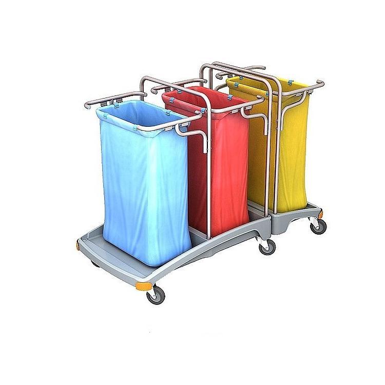 Wózek na odpady trzy workowy 120l TSO-0009