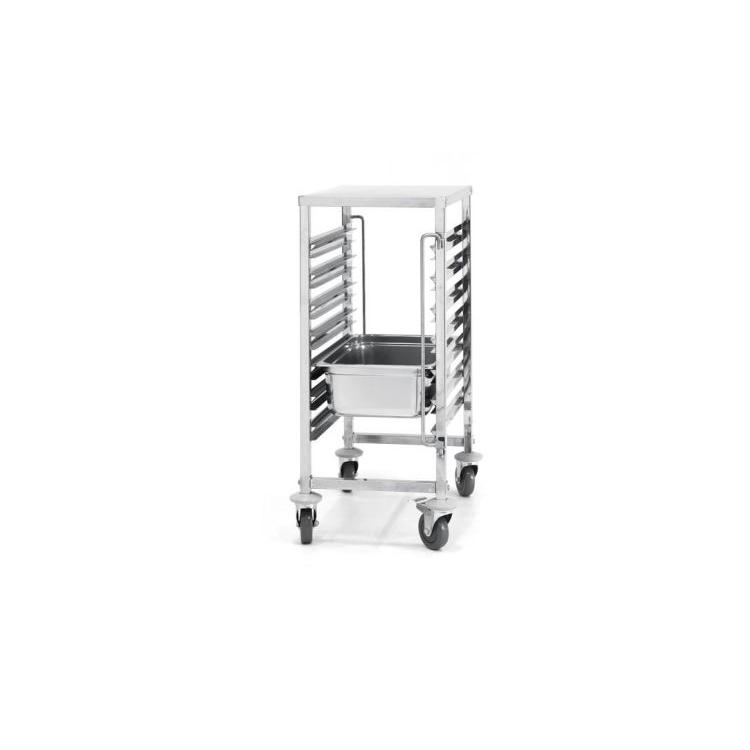 wózek 7-półkowy do blach i pojemników GN