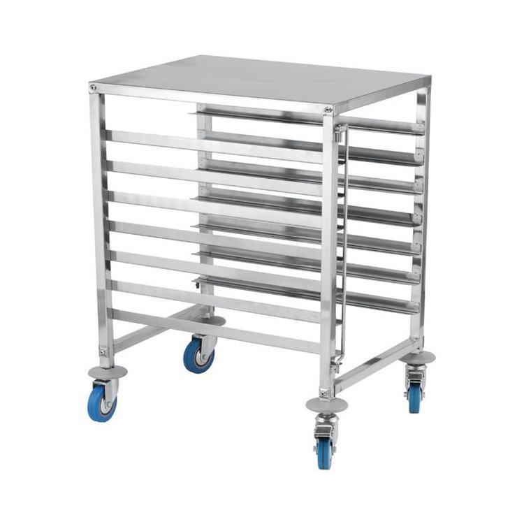 wózek gastronomiczny do pojemników gn 1-1 , 7 półkowy