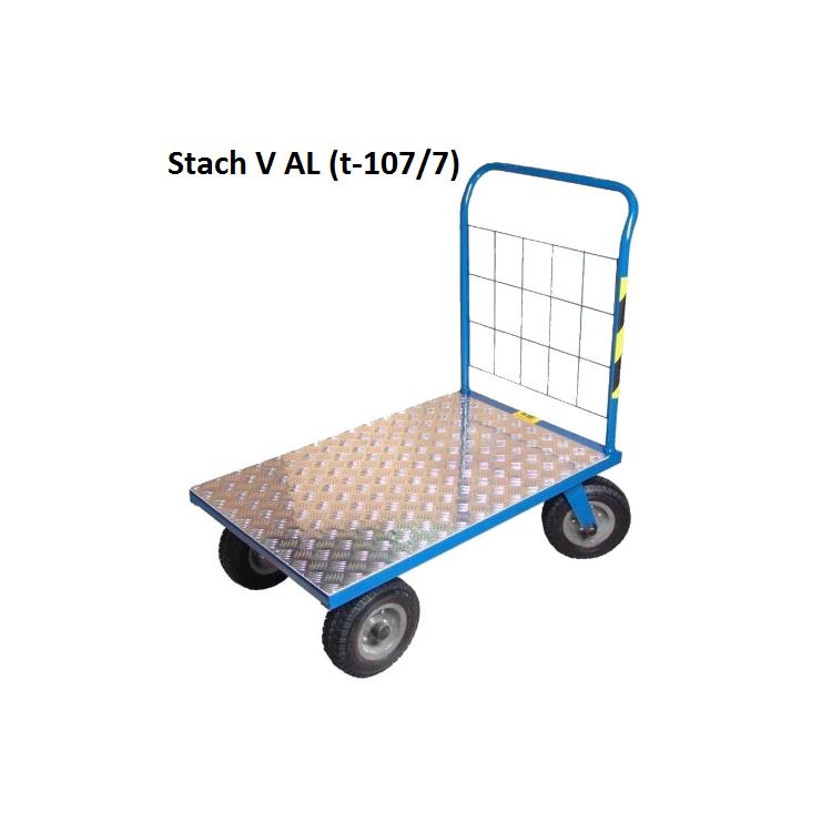 Wózek platformowy STach V aluminiowy