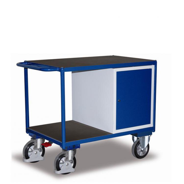 wózek warsztatowy z szafką, udźwig 1000 kg