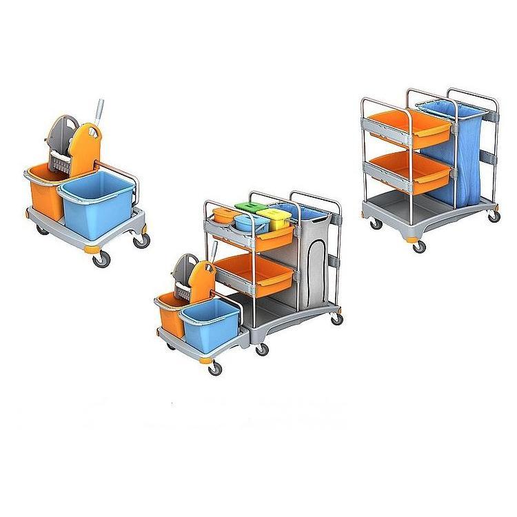 Wózki do sprzątania na mokro