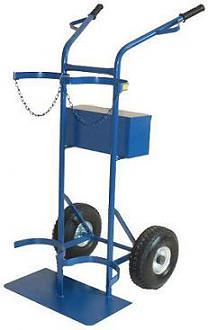 Wózek spawalniczy tlen, acetylen, butle 230 mm