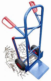 wózek taczkowy na kołach piankowych