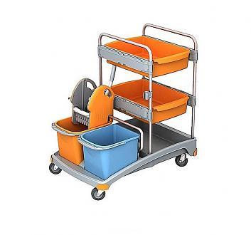Wózek do sprzątania na mokro TSS-0011