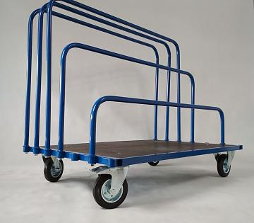 Wózek do transportu płyt gk i meblowych