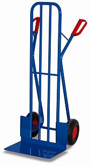 wózek dwukołowy na kołach pneumatycznych