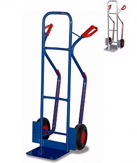wózek dwukołowy z platformą i ślizgami