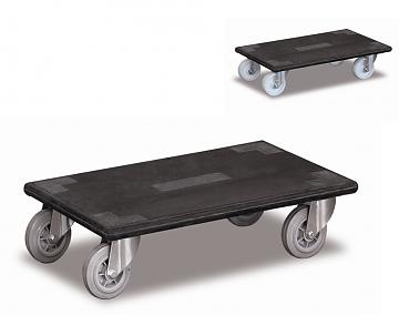 wózek do przewozu mebli, platforma ze sklejki