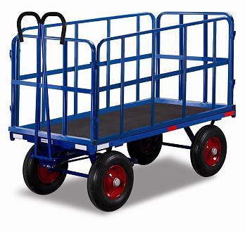 wózek ogrodowy z dyszlem, do 1200 kg