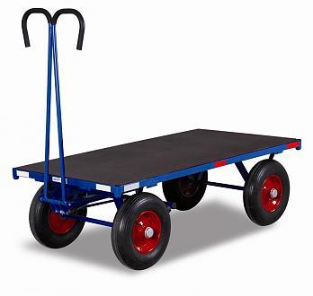 wózek ogrodowy platforma z dyszlem