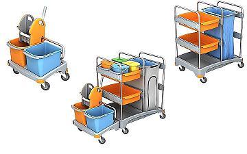 wózek do sprzątania na mokro