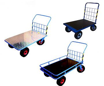 Wózki na kołach PNEUMATYCZNYCH